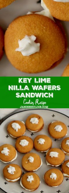 Key Lime NILLA Wafers Sandwich Cookies Recipe - #ad Looking for an easy no bake snack recipe this summer? Then find out how to make Key Lime Sandwich Cookies using @NILLAWafers from @Walmart #NILLASummerParty #IC