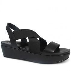 Wittner Holla Platform Black Leather