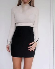 dance - 56 Mini Skirt Dress Ideas For Your Best Perfect Looking miniskirtdress skirtoutfit skirtfashion dress women fashion outfit JANDAJOSS ME Mode Outfits, Skirt Outfits, Trendy Outfits, Fall Outfits, Summer Outfits, Fashion Outfits, Womens Fashion, Fashion Ideas, Ladies Fashion