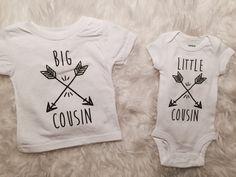 Big Cousin Little Cousin Shirts Matching Shirts by KyCaliDesign