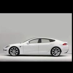 Tesla Model S...my kind of electric car.