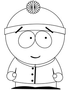South Park Garrison Coloring Page | Free Printable Coloring Pages ...