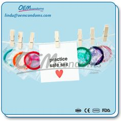 For safe sex is always use a condom.OEM condom manufacturers and suppliers. Email: linda@oemcondoms.com