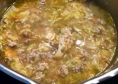 Zupa gołąbkowa z młodej kapusty - Blog z apetytem