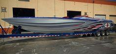 46' Cigarette Boat.