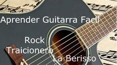Aprender Guitarra Rock Traicionero de La Beriso