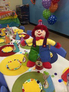 Gymboree Party decoration me acordede Liam y su Gymbooo!!!!
