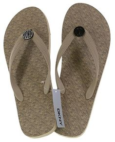 db96107f3 DKNY Flip Flop Sandals Style 76163014 Fran Rubber in Light Taupe -- You can  get additional details at the image link. (This is an affiliate link)