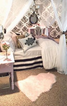 Cute And Girly Bedroom Decorating Ideas For Apartment Romantic Bedroom Decorating Ideas Cheap Apartment Decorating For Couples, Apartment Decoration, Bedroom Decorating Tips, Decorating Ideas, Decor Ideas, Bedroom Ideas For Couples Romantic, Romantic Bedroom Decor, Ideas 2017, Couple Bedroom