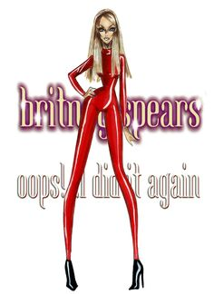 The Britney Spears Eras - …Oops!I did it again - by Armand Mehidri Britney Spears Gif, Star Illustration, Baby One More Time, Britney Jean, Disney Artwork, Queen B, Fashion Art, Fashion Drawings, Fashion Illustrations