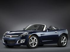 2009 Saturn SKY RL...looks cool, but a guy my size...not so good.