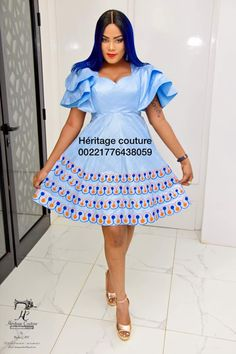 All About Fashion To Help Women Look Great African Dresses For Women, African Print Dresses, African Print Fashion, Africa Fashion, African Attire, African Fashion Dresses, African Wear, Fashion Prints, Fashion Outfits