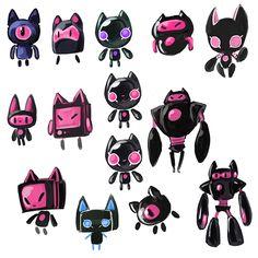 Robot & Master: Concept Art/Character Design