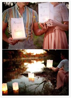 I love this idea for our 1st yr anniversary pics...and we have the convenience of the platte river so close!