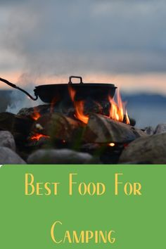 One of the best things about camping is the food. Learn how to choose the best options for food while out camping. Best Camping Meals, First Time Camping, Camping 101, Camping Supplies, Camping Essentials, Tent Camping, Outdoor Camping, Camping In The Rain, Ways To Travel