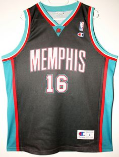 Champion NBA Basketball Memphis Grizzlies #16 Pau Gasol Trikot/Jersey Size 44 - Größe L - 69,90€ #nba #basketball #trikot #jersey #ebay #sport #fitness #fanartikel #merchandise #usa #america #fashion #mode #collectable #memorabilia #allbigeverything