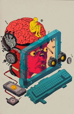Illustrations 2014 by Raul Urias, via Behance