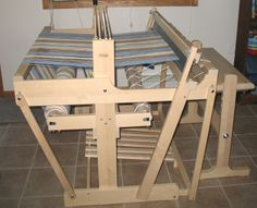 Newer version of the Norwood four harness loom made in Finland.  Older models made BY Norwood were all cherry wood.
