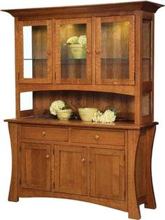 The Arts U0026 Crafts Hutch Is A Beautiful Example Of All Our American Made  Pieces Of Furniture Handcrafted By Our Talented Amish Craftsmen.