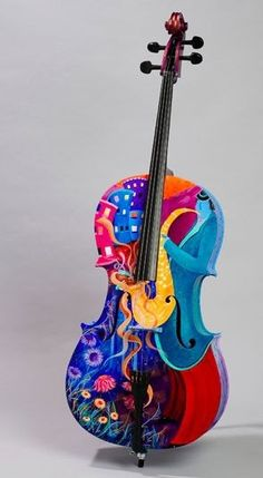 Paint an old violin