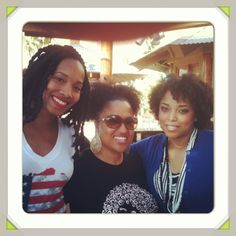 #MyLoves at our Reconnect 2013 #meetup March 2013. #beautifullycurly is what they are! @Nicole Updegraff of @CottonCandyPlayground theloveofcurls and @NaturallyCurlyQ