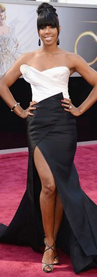 Kelly Rowland at the 2013 Academy Awards - Donna Karan