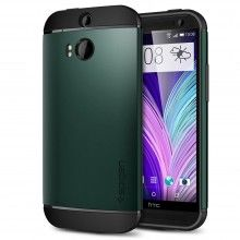 Carcasa HTC One M8 Spigen SGP Armor Series Slim Verde  $ 58.100,00