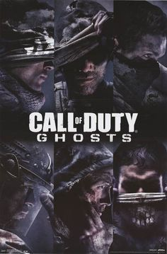 A fantastic poster from a fantastic video game - Call of Duty: Ghosts! Check out the rest of our excellent selection of Call of Duty posters! Need Poster Mounts. Video Game Posters, Video Games, 1 Vs 1, Ghost Videos, Gaming Posters, Art Posters, Mundo Dos Games, Team Games, Ps3 Games