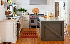 stylish modern Australian kitchen