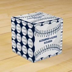 Personalized Sport Athlete Baseball Ball Wedding S Favor Box