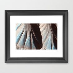 Landforms on Mars   Framed Art Print by Planet Prints - $31.00