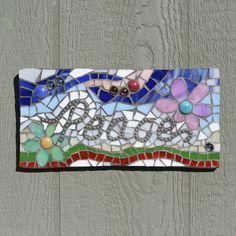 Peace Mosaic Wall Art by MosaicsByLoriB on Etsy