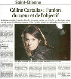 Interview Céline Cartallas Le Progrès Loire par Laetitia Cohendet