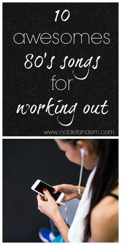 Ten 80's hits for working out / Dix hits des années 80 pour s'entrainer
