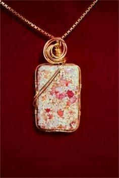 Jennifer Rodrigues Designs - Bermuda Pink Sand Jewlery