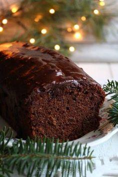 Szybki , wilgotny piernik na powidłach Polish Desserts, Polish Recipes, Christmas Cookies Kids, Christmas Baking, Baking Recipes, Cake Recipes, Dessert Recipes, Different Cakes, Cute Desserts