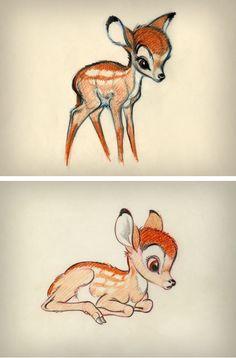 § Bambi concept art