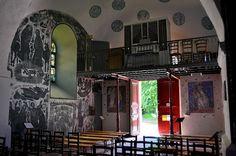 Eglise Saint-Martin (église fortifiée) .Jeantes (Aisne - Thiérache) -  Picardie