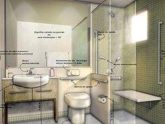 Banheiro adaptado para idosos                                                                                                                                                                                 Mais