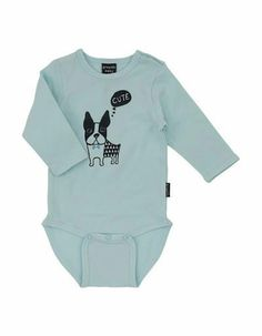 Lichtblauwe Billy body - Graphic Baby - Pepatino.be - Webshop kinderkleding - Shop Online - Afhaalpunt in Aalst