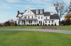 Traditional Exterior of Home with Fence & Pathway in Wilton, CT | Zillow Digs
