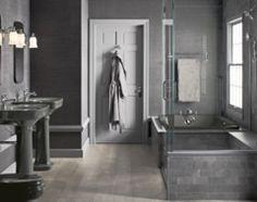 Kohler Thunder Gray Bathroom