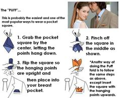 easy pocket square folds