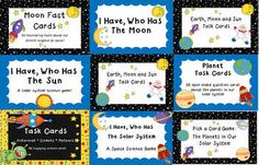 Solar System Activity Pack- 9 science games and activities that focus on our solar system