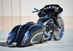 Harley Davidson News – Harley Davidson Bike Pics Harley Bagger, Bagger Motorcycle, Harley Bikes, Motorcycle Style, Custom Baggers, Custom Motorcycles, Custom Bikes, Custom Harleys, Custom Cycles