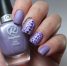 The Clockwise Nail Polish: Roby Nails Vanity Lilac