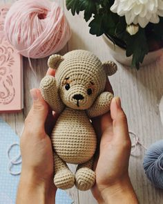 In this article we will share free amigurumi teddy bear crochet patterns. On our site you can find everything you are looking for about amigurumi. Teddy Bear Pictures, Bear Photos, Crochet Teddy Bear Pattern, Crochet Patterns Amigurumi, Do It Yourself Design, Designer Toys, Amigurumi Toys, Diy Crafts, Knitting Toys