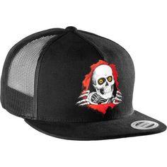 8853a179784da Powell Peralta - Ripper Flex-Fit Cap - Black. Skateboard ...