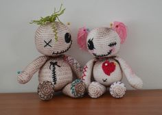 102 Besten Amigurumi Puppen Halloween Horror Bilder Auf