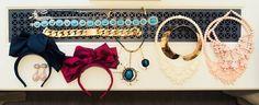Necklaces, Unknown Designer, Miu Miu, Céline; L to R, Marni, Louis Vuitton, Ek Thongprasert, Ek Thongprasert; Bow Headpieces, Miu Miu